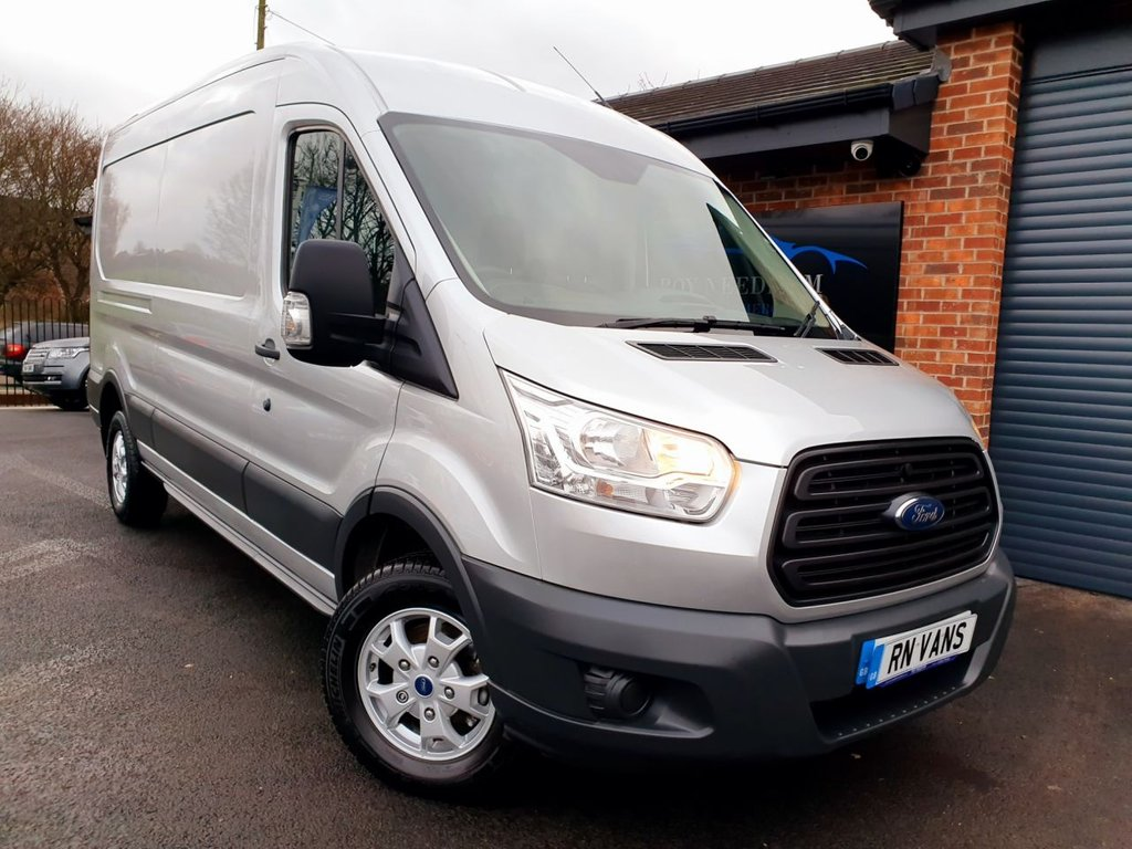 USED 2016 16 FORD TRANSIT 2.2 350 SHR P/V 124 BHP *** PLY LINED - DESIRABLE SILVER ***