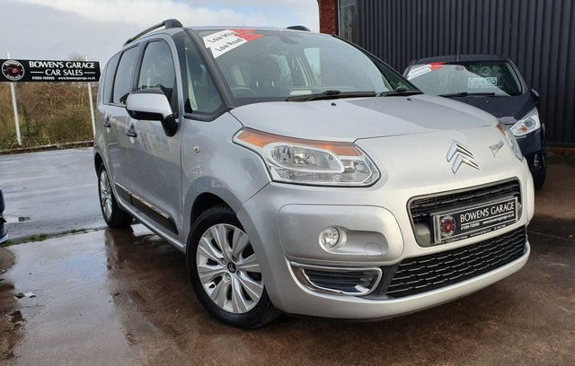 2011 11 CITROEN C3 PICASSO 1.6 PICASSO EXCLUSIVE HDI  5d 90 BHP