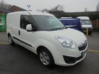 2015 VAUXHALL COMBO 1.2 2000 L1H1 CDTI SPORTIVE 90 BHP FULL SERVICE HISTORY / ELECTRIC WINDOWS / FINANCE AVAILABLE