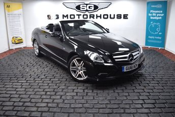 2011 MERCEDES-BENZ E CLASS 2.1 E250 CDI BLUEEFFICIENCY SPORT ED125 2d 204 BHP £9485.00