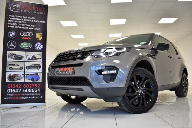 2017 17 LAND ROVER DISCOVERY SPORT 2.0 TD4 HSE BLACK