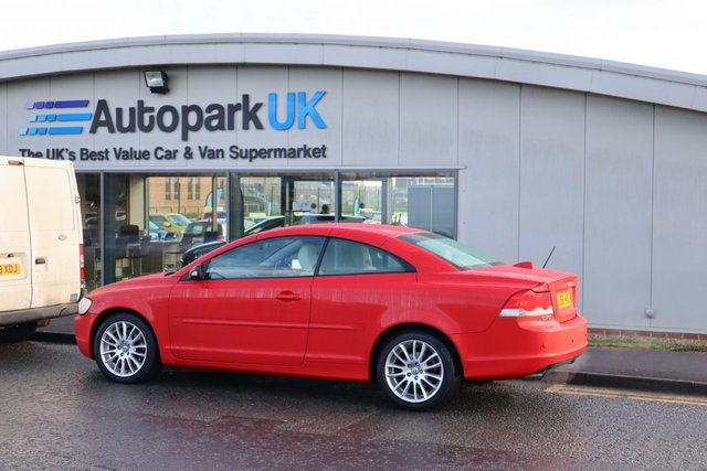 USED 2006 56 VOLVO C70 2.5 T5 SE 2d 221 BHP LOW DEPOSIT OR NO DEPOSIT FINANCE AVAILABLE