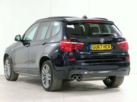 USED 2017 67 BMW X3 3.0 30d M Sport Sport Auto xDrive 5dr ***** £3,215 of EXTRAS *****