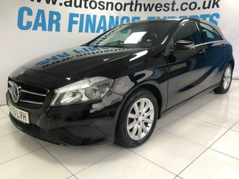 2013 MERCEDES-BENZ A CLASS 1.6 A180 BLUEEFFICIENCY SE 5d 122 BHP £9500.00