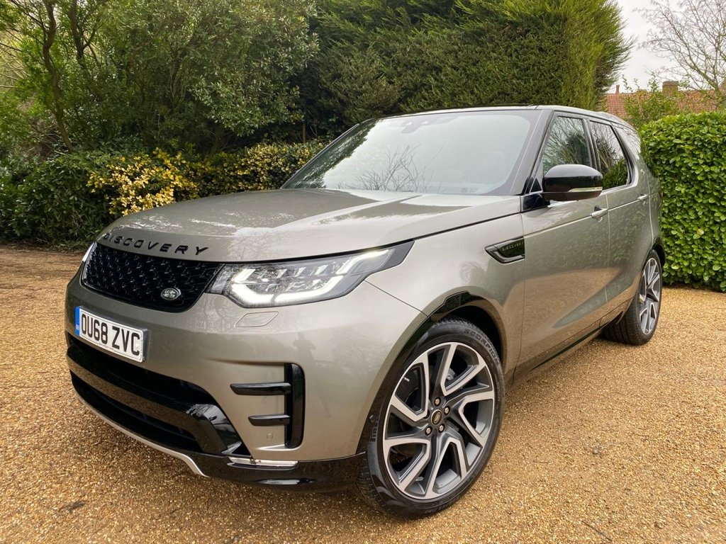 USED 2018 68 LAND ROVER DISCOVERY 3.0 SDV6 HSE LUXURY 5d 302 BHP