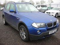 2007 BMW X3 2.0 D SE 5d 148 BHP £3000.00