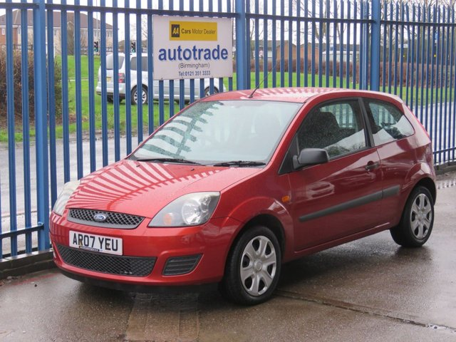 USED 2007 07 FORD FIESTA 1.2 STYLE CLIMATE 16V 3d 78 BHP ULEZ COMPLIANT Heated Screen & Door Mirrors Ideal First Car