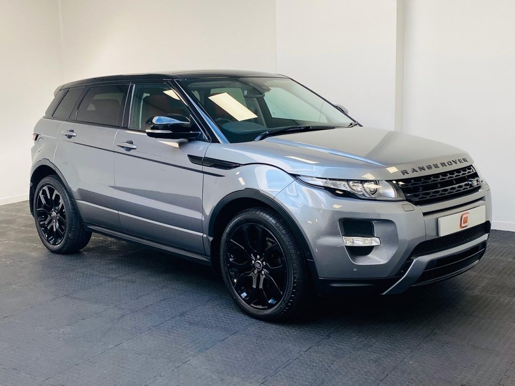USED 2012 62 LAND ROVER RANGE ROVER EVOQUE 2.2 SD4 DYNAMIC LUX 5d 190 BHP PANORAMIC ROOF + 2 TONE LEATHER + SAT NAV + FULL HISTORY