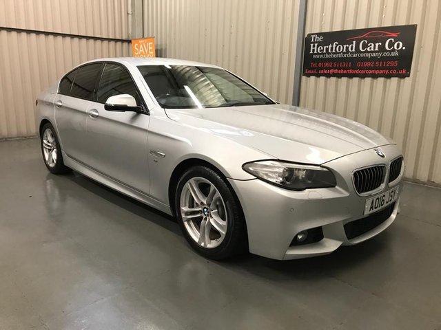 2016 16 BMW 5 SERIES 2.0 520D M SPORT 4d 188 BHP