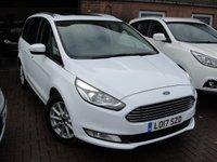 USED 2017 17 FORD GALAXY 2.0 TITANIUM X TDCI 5d 148 BHP ANY PART EXCHANGE WELCOME, COUNTRY WIDE DELIVERY ARRANGED, HUGE SPEC