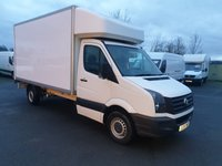 USED 2016 16 VOLKSWAGEN CRAFTER 2.0 CR35 TDI LWB LUTON TAILIFT  136 BHP