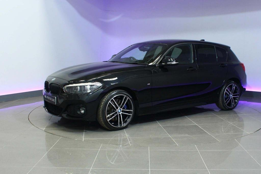 USED 2019 19 BMW 1 SERIES 2.0 118d M Sport Shadow Edition Sports Hatch Auto (s/s) 5dr SAT NAV REAR CAMERA DAB