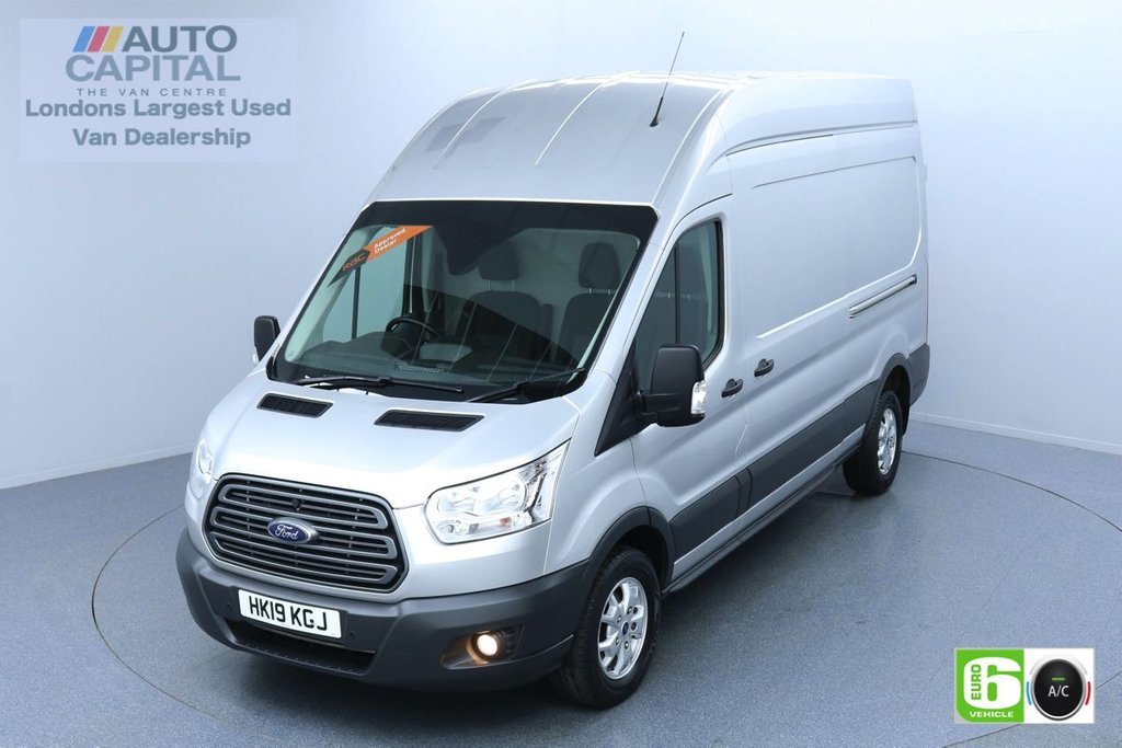USED 2019 19 FORD TRANSIT 2.0 350 TREND L3 H3 129 BHP EURO 6 ENGINE AIR CON | PARKING SENSORS | ALLOY WHEELS