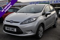 2010 FORD FIESTA 1.2 EDGE 5d 81 BHP £3995.00
