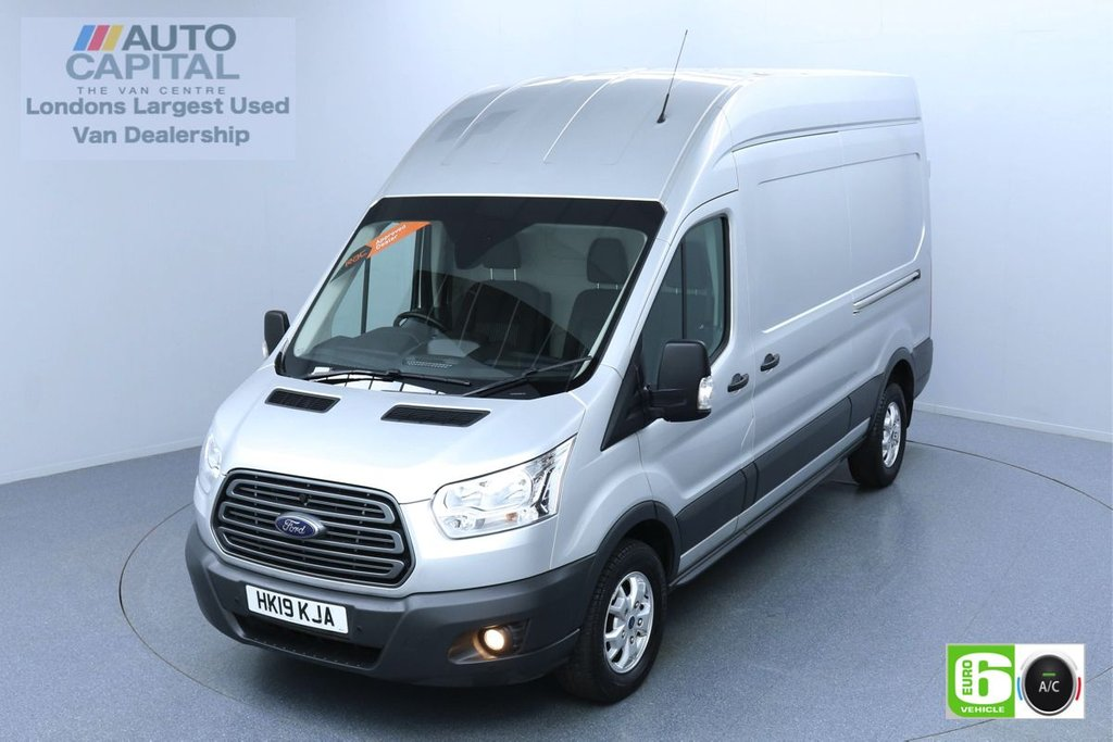 USED 2019 19 FORD TRANSIT 2.0 350 TREND L3 H3 130 BHP EURO 6 ENGINE AIR CON   PARKING SENSORS   ALLOY WHEEL