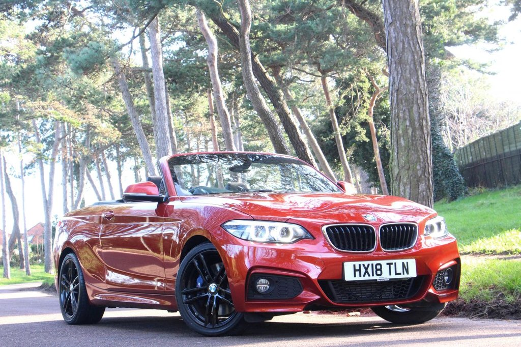 USED 2018 18 BMW 2 SERIES 2.0 218D M SPORT 2d 148 BHP