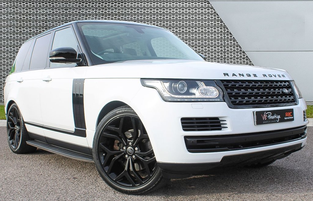 "USED 2015 64 LAND ROVER RANGE ROVER 3.0 TDV6 VOGUE SE 5d 258 BHP *22"" ALLOYS/BLACK PACK/DUAL TV*"