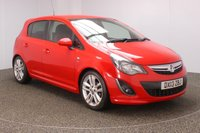USED 2013 13 VAUXHALL CORSA 1.4 SRI 5DR 98 BHP SERVICE HISTORY + CRUISE CONTROL + MULTI FUNCTION WHEEL + AIR CONDITIONING + PRIVACY GLASS + RADIO/CD/AUX + ELECTRIC WINDOWS + ELECTRIC/HEATED DOOR MIRRORS + 17 INCH ALLOY WHEELS