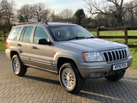 2001 JEEP GRAND CHEROKEE 2.7 LIMITED CRD 5d 161 BHP £1833.00