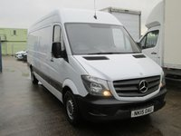USED 2015 15 MERCEDES-BENZ SPRINTER 2.1 313 CDI LWB (130) LONG WHEEL BASE, HIGH ROOF PANEL VAN