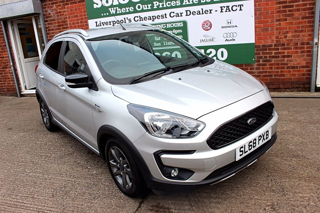 USED 2018 68 FORD KA+ 1.2 ACTIVE 5d 84 BHP +LOW MILEAGE +APPLE CAR PLAY.