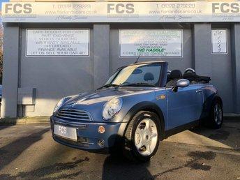 2005 MINI CONVERTIBLE 1.6 COOPER 2d 114 BHP £3495.00