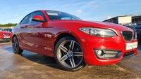 2016 BMW 2 SERIES 1.5 218I SPORT 2d 134 BHP £11690.00
