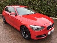 2012 BMW 1 SERIES 1.6 116I SPORT 3d 135 BHP £6975.00