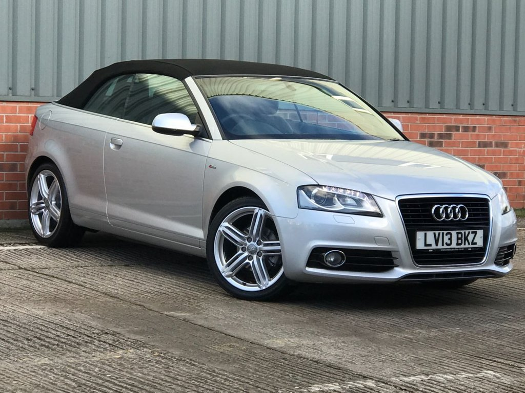 USED 2013 13 AUDI A3 1.2 TFSI S LINE FINAL EDITION 2d 105 BHP EXCELLENT LOW MILEAGE EXAMPLE