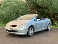USED 2004 04 PEUGEOT 307 2.0 COUPE CABRIOLET 2d 135 BHP PX TO CLEAR! LONG MOT, GOOD WORKING ORDER, READY TO GO!!!