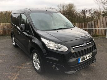 2017 FORD TRANSIT CONNECT 1.5TDCI T200 L1 LIMITED (EURO 6)(120 BHP) £8950.00