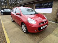 USED 2013 13 NISSAN MICRA 1.2 ACENTA DIG-S 5d 97 BHP * 21,000 MILES WITH 5 NISSAN SERVICE STAMPS * ZERO ROAD TAX * 2 KEYS *