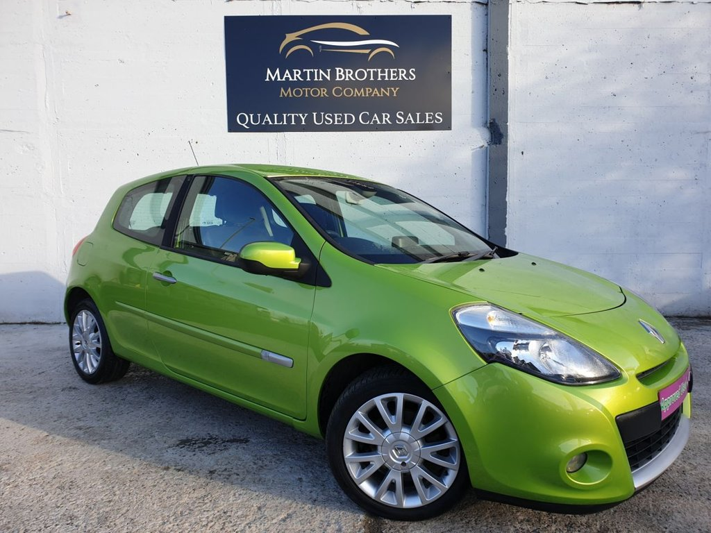 USED 2011 11 RENAULT CLIO 1.1 DYNAMIQUE TOMTOM 16V 3d 75 BHP