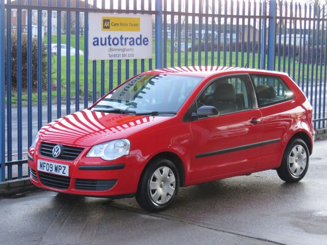 USED 2009 09 VOLKSWAGEN POLO 1.2 E 3d 59 BHP ULEZ COMPLIANT Ideal 1st Car,Low insurance