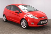 USED 2012 12 FORD FIESTA 1.4 TITANIUM 3DR AUTO 96 BHP **NO ADMIN FEES** HEATED LEATHER SEATS +  BLUETOOTH + CLIMATE CONTROL + MULTI FUNCTION WHEEL + DAB RADIO + PRIVACY GLASS + ELECTRIC WINDOWS + ELECTRIC/HEATED DOOR MIRRORS + 16 INCH ALLOY WHEELS