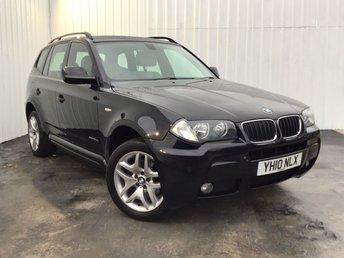 2010 BMW X3 2.0 XDRIVE20D M SPORT 5d 175 BHP £7500.00