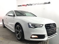 USED 2014 AUDI A5 2.0 TDI QUATTRO BLACK EDITION 2d 175 BHP * GENUINE BLACK EDITION QUATTRO *