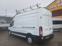 USED 2016 66 FORD TRANSIT T350 L.W.B HITOP EURO 6 130 BHP FITTED GLASS RACK (((( LOTS MORE VANS IN STOCK OVER 100 ON SITE )))