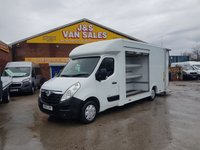 USED 2015 65 VAUXHALL MOVANO LO LOADER RARE MODEL SIDE SHUTTER +TAILIFT LOW MLS  MOVANO LOLOADER RARE MODEL LOW MLS