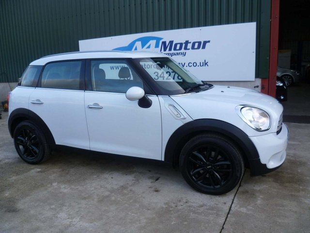 2012 62 MINI COUNTRYMAN 1.6 Cooper D 5dr