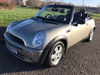 2008 MINI CONVERTIBLE 1.6 One 2dr £2395.00