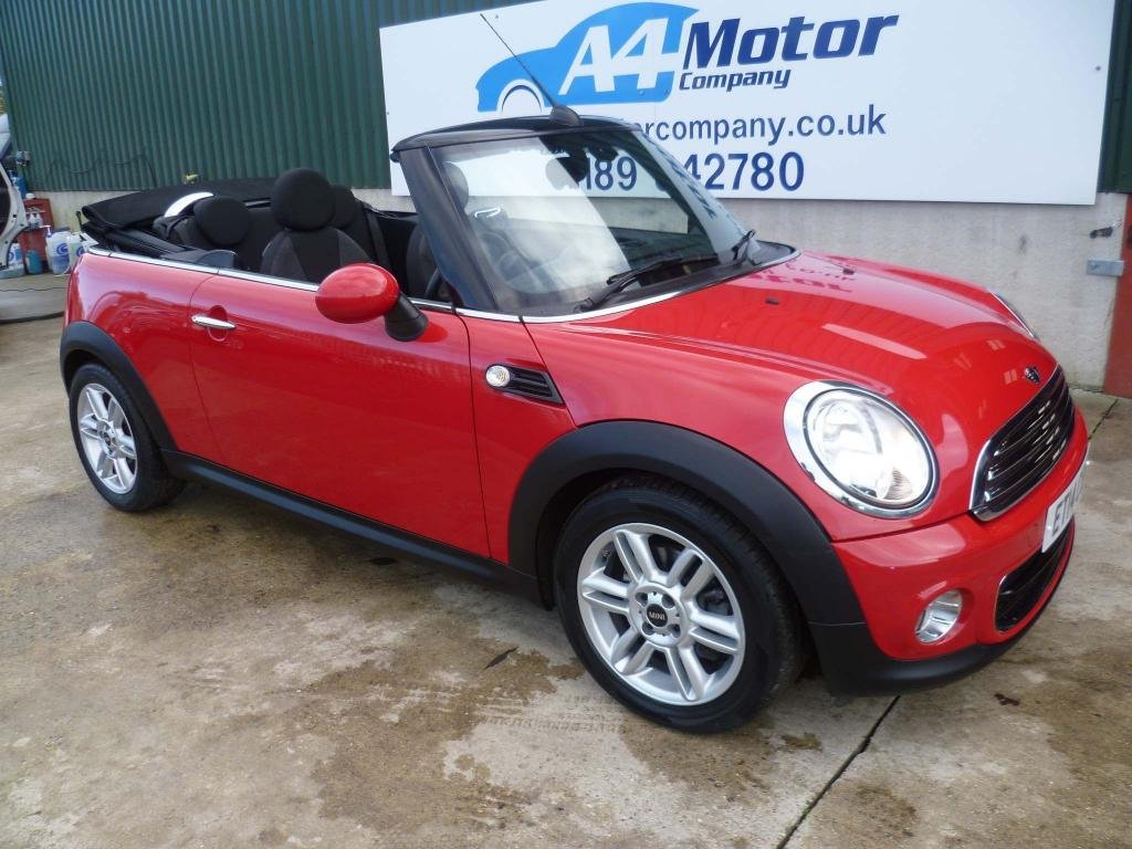 USED 2014 14 MINI CONVERTIBLE 1.6 One 2dr 100 + REVIEWS YOU CAN TRUST!!