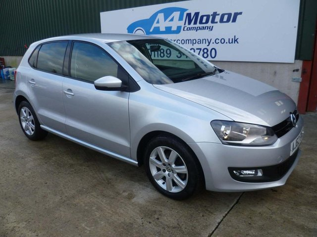 2013 62 VOLKSWAGEN POLO 1.4 Match 5dr