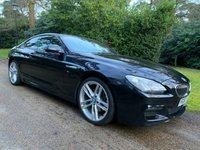 USED 2013 63 BMW 6 SERIES 3.0 640D M SPORT 2d 309 BHP