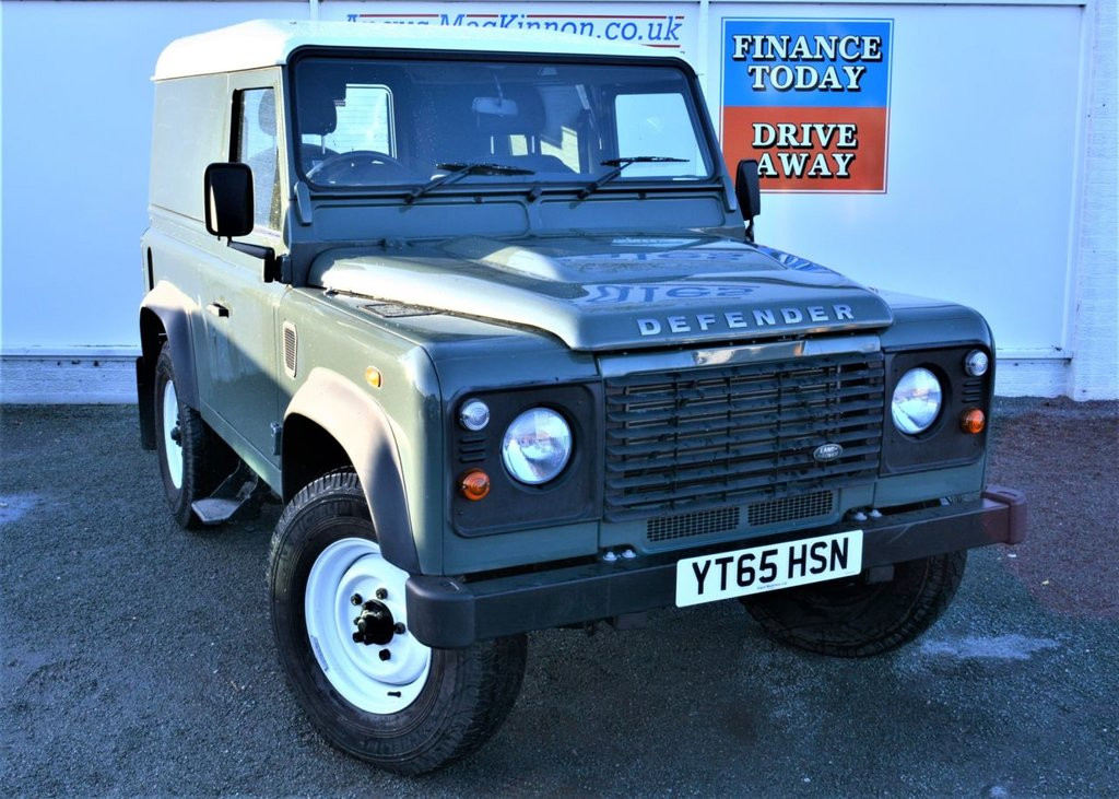 USED 2015 65 LAND ROVER DEFENDER 90 2.2 TD HARD TOP 2d 4x4 Commercial in Fantastic Original Condition One of the Last Defender Commercials off the Production Line  ***ONE OWNER FROM NEW + ONE OF THE LAST OF THE DEFENDER COMMERCIALS OFF THE PRODUCTION LINE! ***
