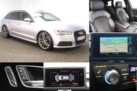 USED 2017 17 AUDI A6 AVANT 2.0 AVANT TDI ULTRA BLACK EDITION 5DR AUTO 188 BHP FULL AUDI SERVICE HISTORY + HEATED  LEATHER & ALCANTARA SEATS + SATELLITE NAVIGATION + PARKING SENSOR + BLUETOOTH + CRUISE CONTROL + CLIMATE CONTROL + MULTI FUNCTION WHEEL + BOSE PREMIUM SPEAKERS + PRIVACY GLASS + ELECTRIC/MEMORY DOOR SEATS + ELECTRIC WINDOWS + ELECTRIC/HEATED DOOR MIRRORS + 20 INCH ALLOY WHEELS