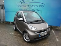 2010 SMART FORTWO 1.0 PASSION MHD 2d 71 BHP £4489.00