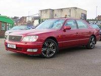 1998 LEXUS LS 4.0 400 4d 280 BHP £1777.00