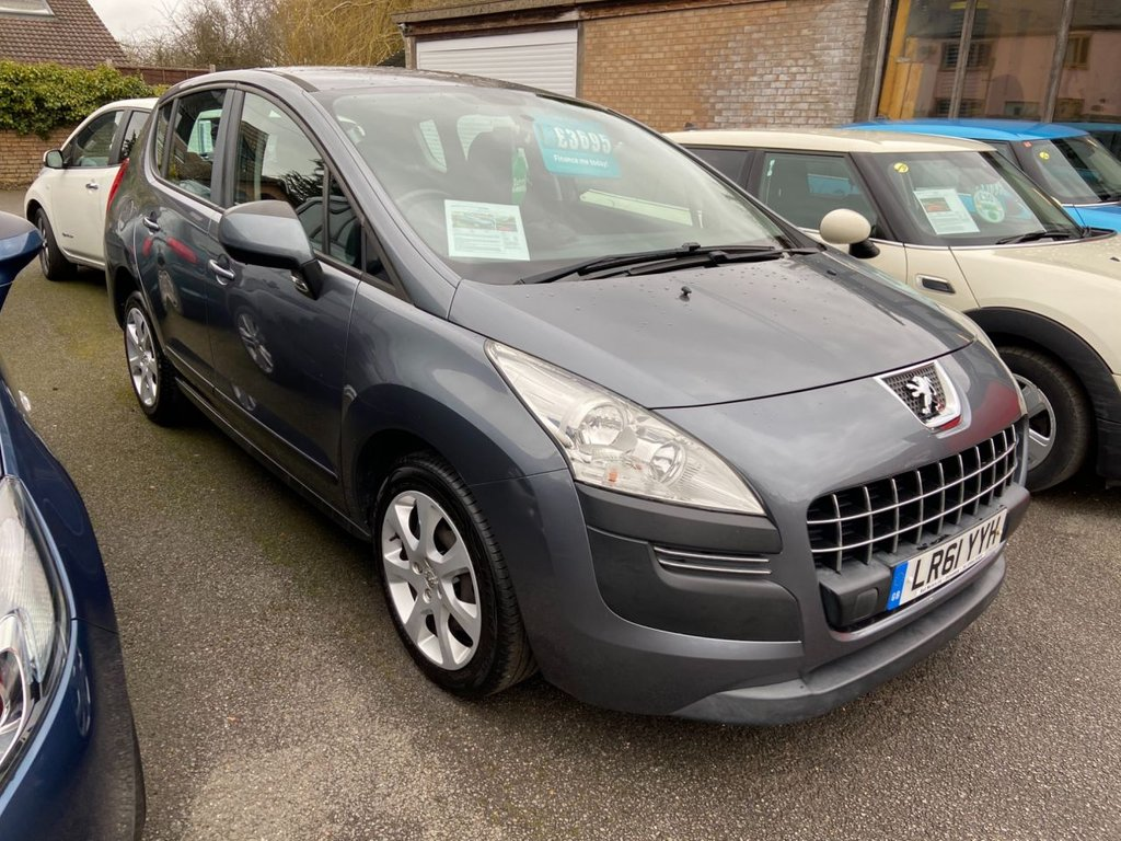 USED 2012 61 PEUGEOT 3008 1.6 ACTIVE 5d 120 BHP