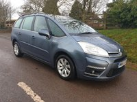 USED 2011 60 CITROEN C4 GRAND PICASSO 2.0 VTR PLUS HDI 5d 148 BHP ** MOT ** FULL SERVICE HISTORY **